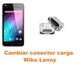 Cambiar conector carga Wiko Lenny