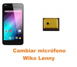 Cambiar micrófono Wiko Lenny