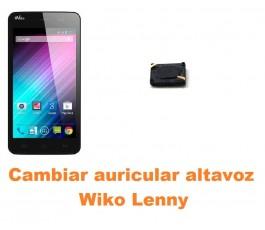 Cambiar auricular altavoz Wiko Lenny