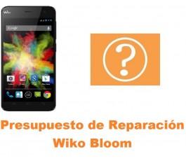 Presupuesto de reparación Wiko Bloom