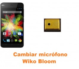 Cambiar micrófono Wiko Bloom