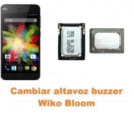 Cambiar altavoz buzzer Wiko Bloom