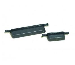 Botones exteriores para Asus MemoPad ME102 ME102A K00F gris original