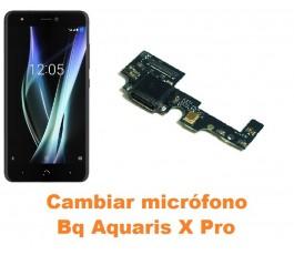 Cambiar micrófono Bq Aquaris X Pro