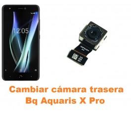 Cambiar cámara trasera Bq Aquaris X Pro
