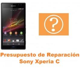 Presupuesto de reparación Sony Xperia C