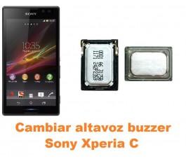 Cambiar altavoz buzzer Sony Xperia C