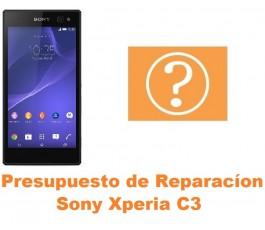 Presupuesto de reparación Sony Xperia C3