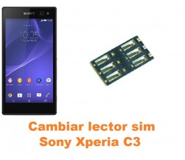 Cambiar lector sim Sony Xperia C3