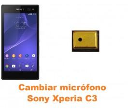 Cambiar micrófono Sony Xperia C3