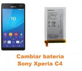 Cambiar batería Sony Xperia C4