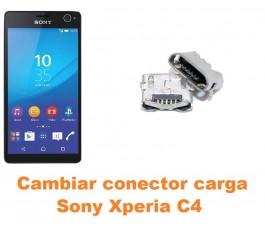 Cambiar conector carga Sony Xperia C4