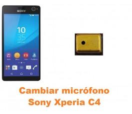 Cambiar micrófono Sony Xperia C4