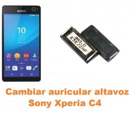 Cambiar auricular altavoz Sony Xperia C4