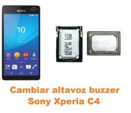 Cambiar altavoz buzzer Sony Xperia C4