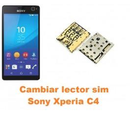 Cambiar lector sim Sony Xperia C4