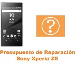 Presupuesto de reparación Sony Xperia Z5