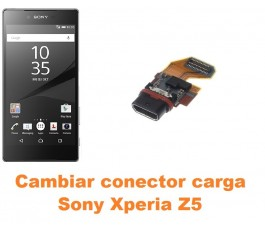 Cambiar conector carga Sony Xperia Z5