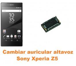 Cambiar auricular altavoz Sony Xperia Z5