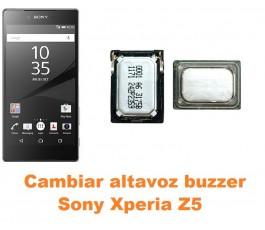 Cambiar altavoz buzzer Sony Xperia Z5