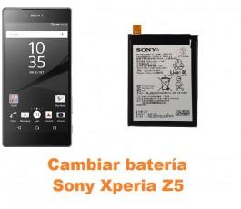 Cambiar batería Sony Xperia Z5