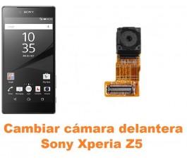 Cambiar cámara delantera Sony Xperia Z5