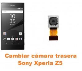 Cambiar cámara trasera Sony Xperia Z5