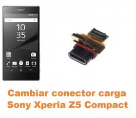 Cambiar conector carga Sony Xperia Z5 Compact