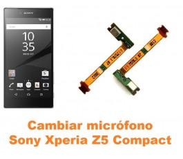 Cambiar micrófono Sony Xperia Z5 Compact
