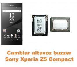 Cambiar altavoz buzzer Sony Xperia Z5 Compact