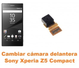 Cambiar cámara delantera Sony Xperia Z5 Compact