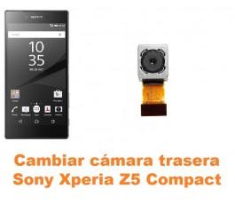 Cambiar cámara trasera Sony Xperia Z5 Compact