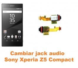 Cambiar conector jack Sony Xperia Z5 Compact