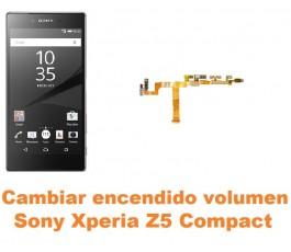 Cambiar encendido y volumen Sony Xperia Z5 Compact