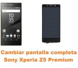Cambiar pantalla completa Sony Xperia Z5 Premium