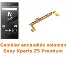 Cambiar encendido y volumen Sony Xperia Z5 Premium