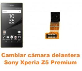 Cambiar cámara delantera Sony Xperia Z5 Premium