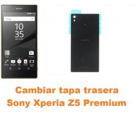 Cambiar tapa trasera Sony Xperia Z5 Premium