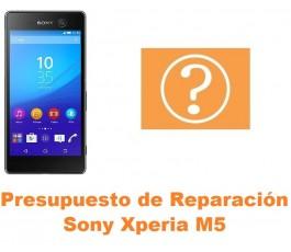 Presupuesto de reparación Sony Xperia M5