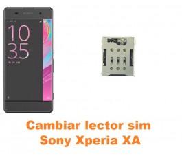 Cambiar lector sim Sony Xperia XA