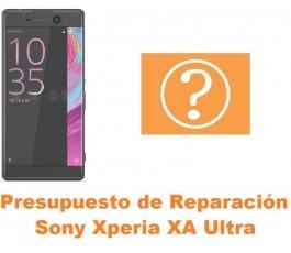 Presupuesto de reparación Sony Xperia XA Ultra