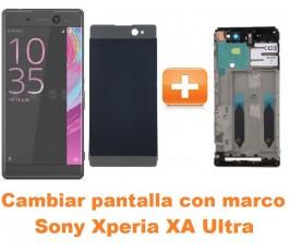 Cambiar pantalla completa con marco Sony Xperia XA Ultra