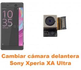 Cambiar cámara delantera Sony Xperia XA Ultra