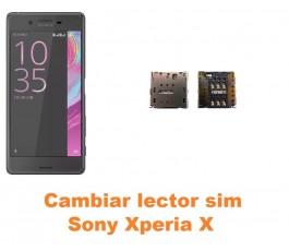 Cambiar lector sim Sony Xperia X