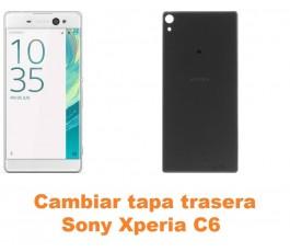 Cambiar tapa trasera Sony Xperia C6