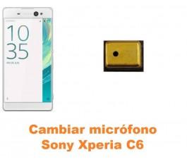 Cambiar micrófono Sony Xperia C6