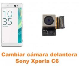 Cambiar cámara delantera Sony Xperia C6