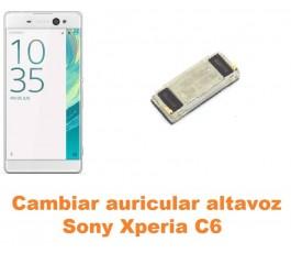 Cambiar auricular altavoz Sony Xperia C6