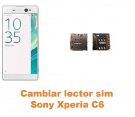 Cambiar lector sim Sony Xperia C6