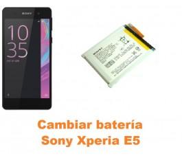 Cambiar batería Sony Xperia E5